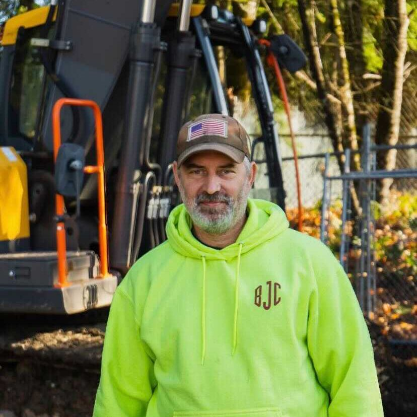 The owner of Bruce Johnson Construction